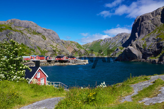 Fishing village Nusfjord