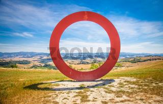 Tuscany panoramic view