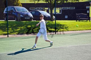 Tennis - forehand
