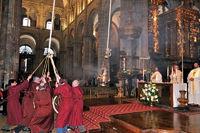 Botafumeiro-Messe der Kathedrale Santiago
