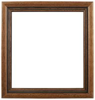 Wooden Picture Frame Cutout