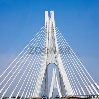 cable-braced bridge