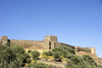 Castle of Noudar,south of  Portugal