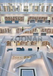 Bücherei in Stuttgart