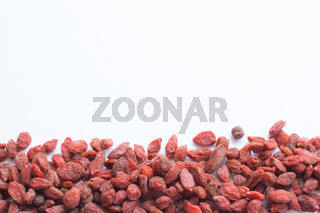 Goji Berries margin decor