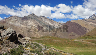 NP Aconcagua, Anden, Mendoza, Argentinien