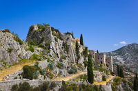 Old fort in Klis, Croatia