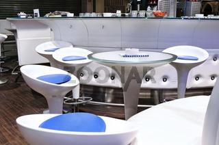 Modern White Cafe