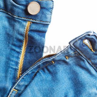 Jeans mit Hosenschlitz