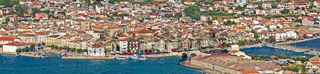 Adriatic Town of Pag panorama