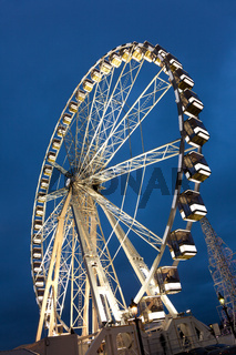 Grand wheel, Paris, Ile de France, France