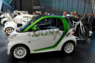 Smart Electric Drive auf der IAA