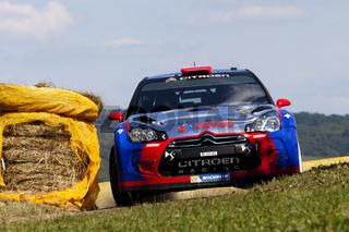 Robert Kubica ADAC Rallye Deutschland 2013