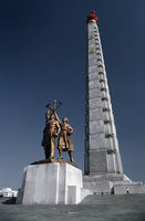 Pjongjang Juche Denkmal und Turm