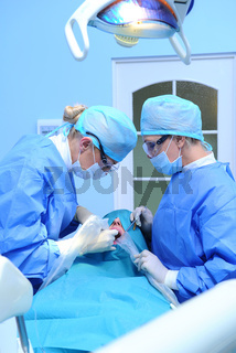 Dental implantation procedure