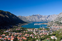 Kotor cityscape