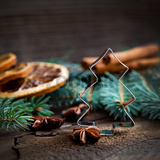 Plätzchenform zu Weihnachten