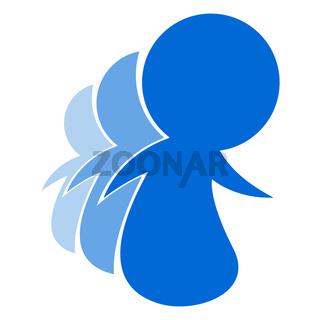 Blue People Logo