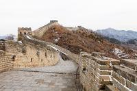 Chinesische Mauer, Mutianyu im Winter