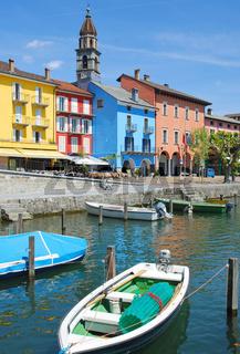 in Ascona am Lago Maggiore