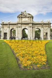 Magnificent flower beds