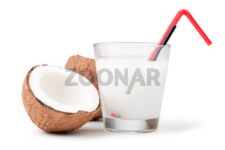 Coconut milk and coconut