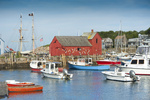 New England harbor