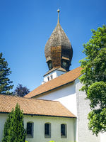 Church in Wessling Bavaria Germany