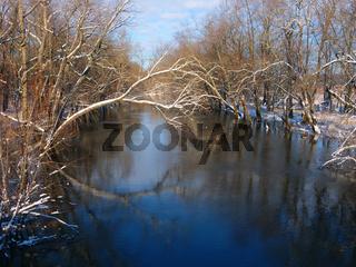 Sangamon River Piatt County Illinois
