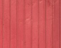 rote Bretterwand