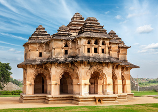 Lotus Mahal. Royal Centre. Hampi