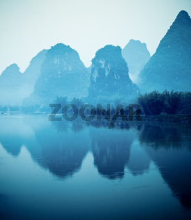 beautiful yangshuo hills