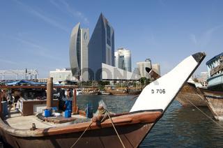 Im Dhau-Hafen von Dubai