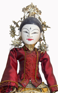 Indonesian Wayang Golek doll puppet