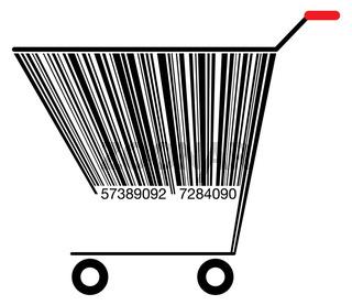 Barcode Einkaufswagen