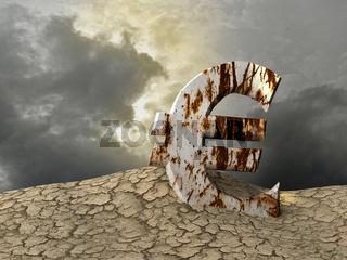 Rostiger Euro