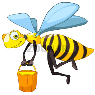 Cartoon Character Bee