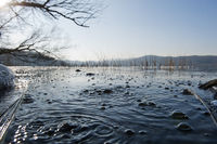 Laacher See CO2 Blasen