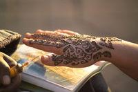 Henna Tätowierung