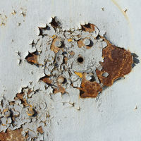 Grunge texture of old paint on metal