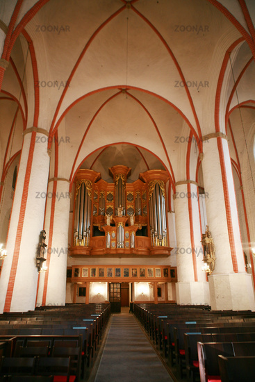 Arp-Schnitger-Orgel in der Sankt Jacobi Kirche