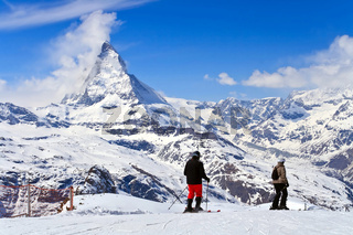 Sjier at Matterhorn Switzerland