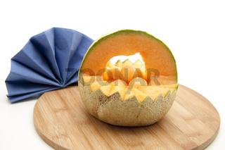 Melonen Korb