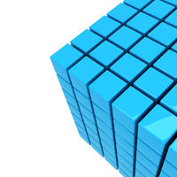 blue cube background