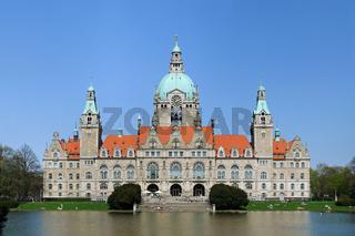 Das neue Rathaus von Hannover