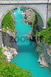 Der Fluss Soca