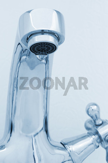 tap with drop water