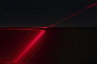Brechung eines Laserstrahls beim Übergang von Luft in Wasser