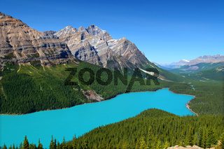 Peyto Lake of Canada