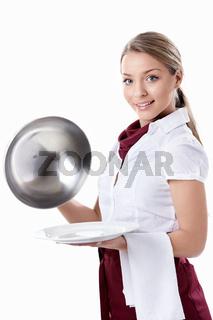 Attractive Waitress